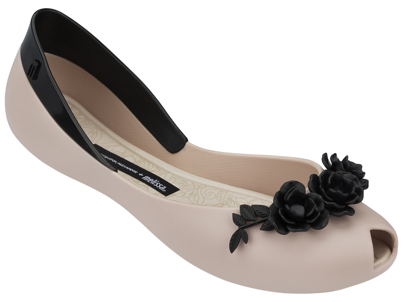 Melissa Flower Queen + Alexandre Herchcovitch 31662-51485 Pink-Black-SMALL