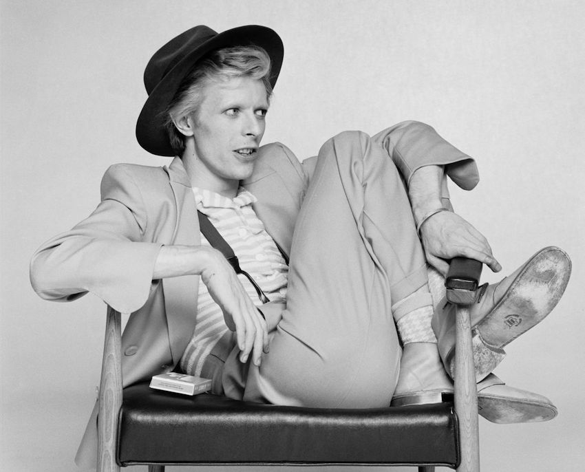 British singer, actor and musician David Bowie, 1974. (Photo by Terry O'Neill/Getty Images)