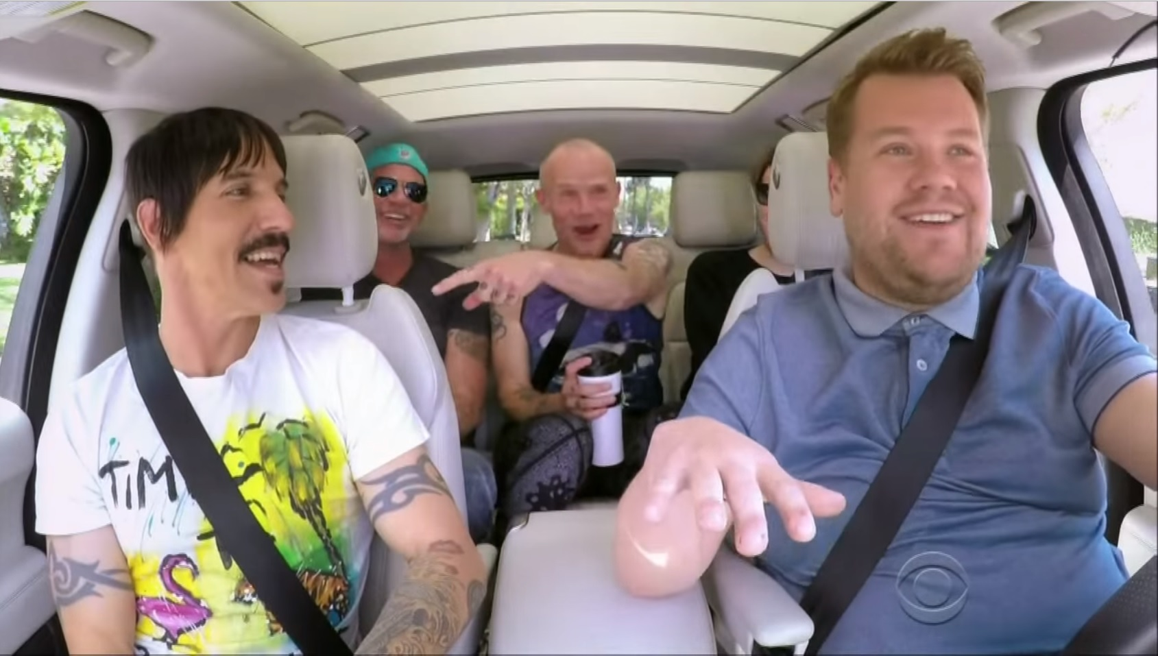 Video Carpool Karaoke With The Red Hot Chili Peppers