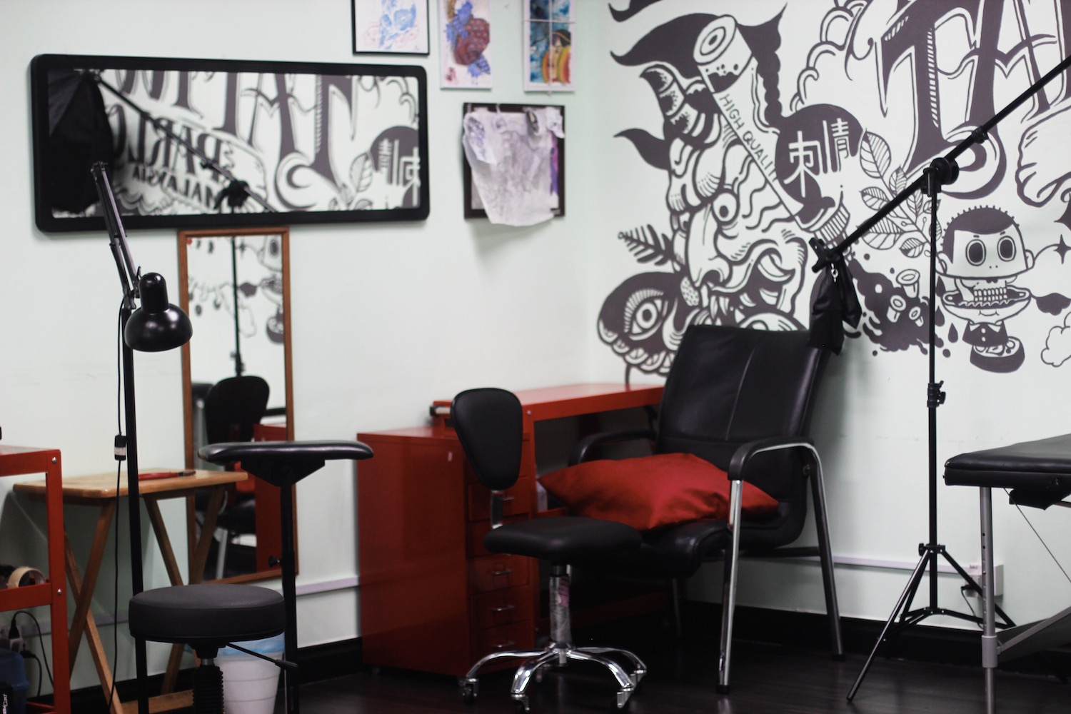 b6e842bb43ab2 A tattoo parlour is a place where people surrender themselves – or their  skin to be precise – to be modified by artists. Not too long ago, a career  built ...