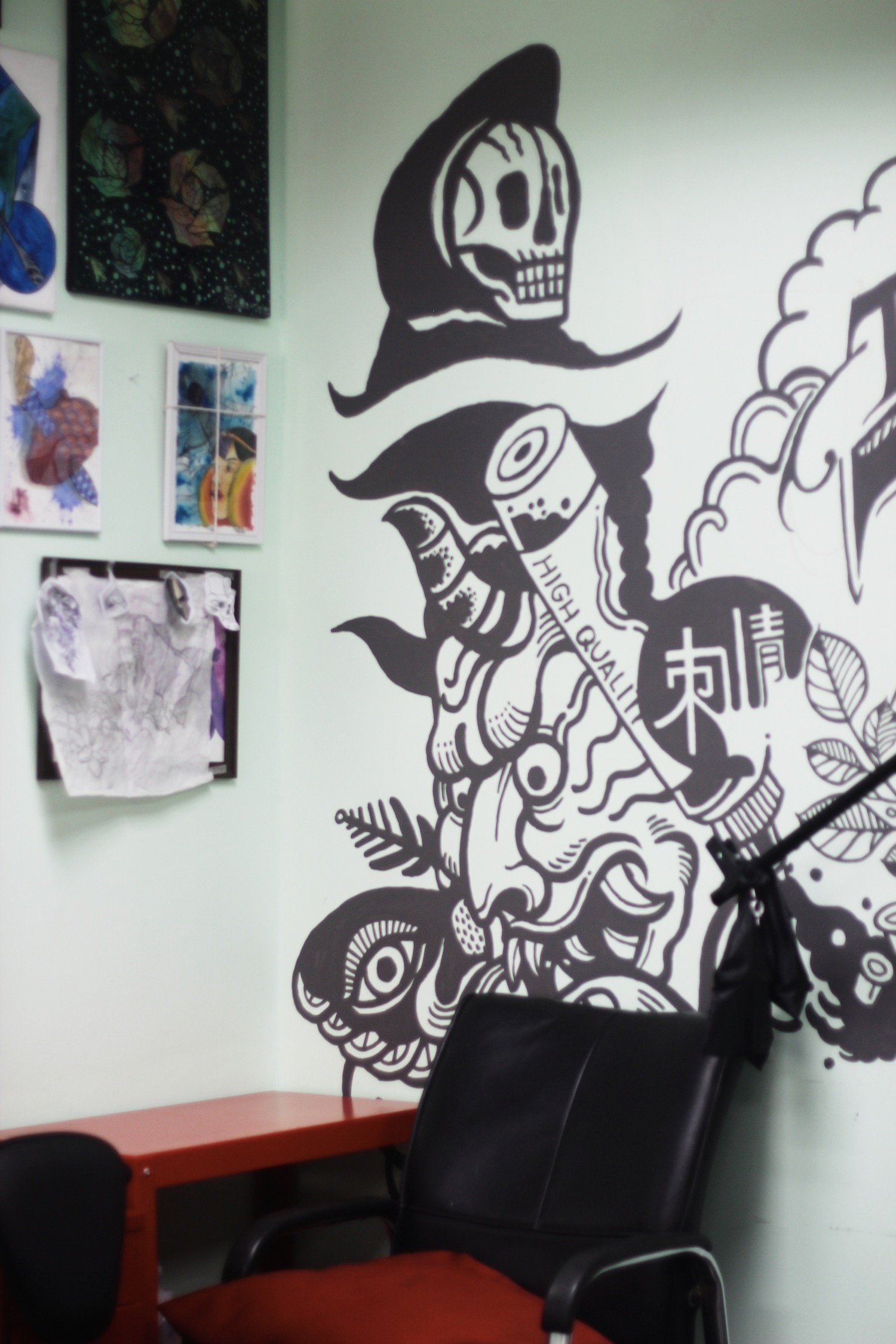 afd421e4869fe Inking aside, Tattoo Parlor Malaysia plays a range of genres at its  premises, most prominently being rock with music from the likes of Guns N'  Roses, ...